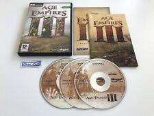 Age Of Empires III 3 - PC - FR - Avec Notice