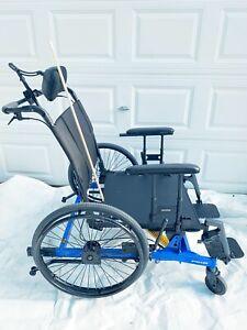 "PDG Stellar HD 26""x22"" Manual Tilt in space Wheelchair Bariatric Up To 600lbs"