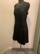 Cop Copine Mathilda Pleated Pinfafore Dress Size 40/UK 10-12