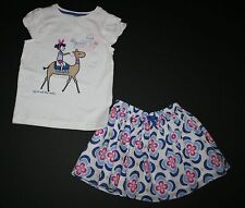 New Gymboree To See the World Tee & Floral Medallian Skirt Set 4T Desert Dreams