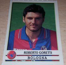 AGGIORNAMENTO FIGURINE CALCIATORI PANINI 2001/02 BOLOGNA GORETTI ALBUM