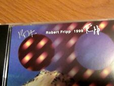 ROBERT FRIPP Signed Soundscapes CD Live in Argentina AUTOGRAPHED King Crimson NM