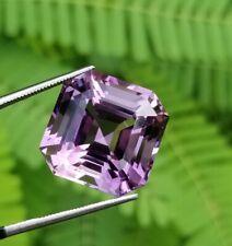 20 carat Amazing Top Quality natural purpal colour Amethyst Asscher cut from bra