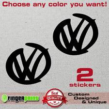 VW sticker decal polo golf sirocco beetle mk euro dub emblem badge gti turbo