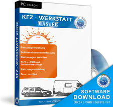 Workshop software, favourable accounting program car repair businesses, vehicles