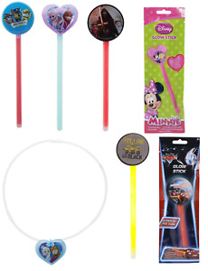 Kids Glow Sticks Necklace Frozen,Pawpatrol,Starwars,Minion,Stocking Filler Toy3+