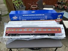 More details for usa trains aluminium passenger car g scale southern pacific daylight x6 set