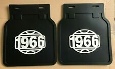 VW T2 Splitscreen 1966 Mudflaps Pair Rear Bus Camper Chevy Ford Truck Beetle