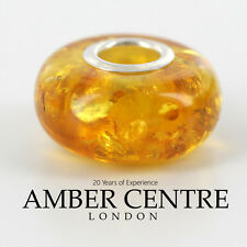 Amber Trolls fits all charm bracelets Baltic Amber 925 Silver RRP£35!!! CHA58