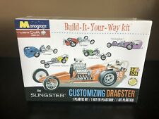 THE SLINGSTER. CUSTOMIZING DRAGSTER. Monogram by Revell 1:25 NEW