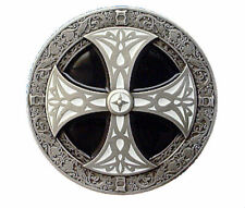 Celtic Cross Belt Buckle with Presentation Box