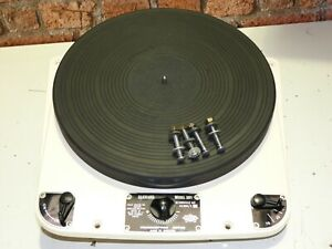 Garrard 301 Vintage Schedule 2 Oil Bearing Record Deck Vinyl Player Turntable