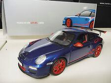 Porsche 911 GT3 RS 997 blue Dealer Edition  NOREV 1:18  SHIPPING FREE Worldwide