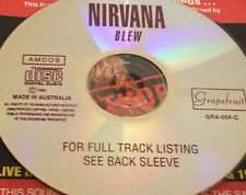 Nirvana Blew Aust. Live CD Rare Kurt Cobain School Polly About A Girl In Bloom