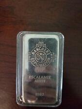 JM Johnson Matthey Escalante Ranchers Mine 10oz Silver Bar in Airtite case rare