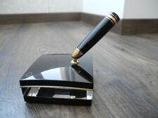 MONTBLANC Meisterstuck LEGRAND 146 Le Grand 147 GOLD BLACK FOUNTAIN PEN STAND