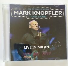 Mark Knopfler Doppio CD Live In Milan 10 Maggio 2019