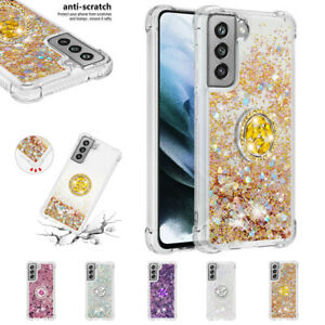 Anti-fall liquid Bling Slim Phone Back Protective Case For Samsung Galaxy S21FE