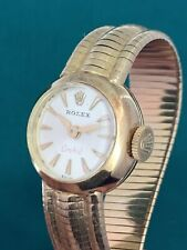 Rolex Orchid 18 K. Yellow Gold Full Gold Bracelet . Collector's Piece .(117)