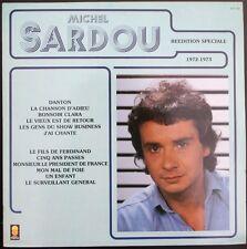 MICHEL SARDOU Réédition Spéciale 1972 - 1973 LP 33T 30CM TREMA 70.102