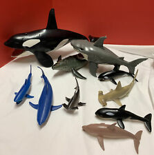 Chap Mei Killer Whale & Shark Toys Articulated Chomping Jaws Toys R Us Retired