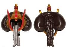 LEGO - Minifig, Hair Bun, Braid w/ Gold Hood & Royal Insignia - (Queen Amidala)