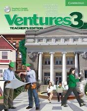 Ventures No. Level 3 Teacher's Toolkit Edition Audio CD Cambridge K. Lynn Savage