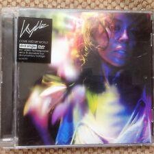 KYLIE MINOGUE - COME INTO MY WORLD 2002 EU DVD SINGLE PAL PARLOPHONE DVDR6590