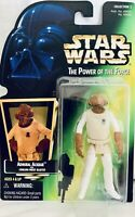 """Star Wars Hasbro 1997 Power of the Force Admiral Ackbar 3.75"""" Action Figure"""