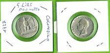 5 LireAquilino  Regno d'Italia in Argento 1 rosetta - anno 1927- nr 723