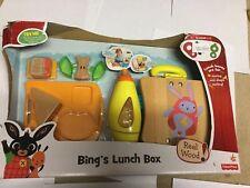 Bing de madera Playset Bing's Caja de almuerzo