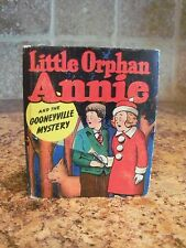 Vintage Better Little Book Little Orphan Annie and the Gooneyville Mystery 1435