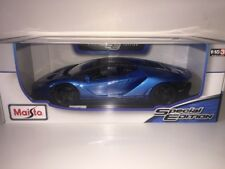 1:18 Maisto Lamborghini Centenario Hyper Super Performance Car 1/18 🇮🇹 BLUE