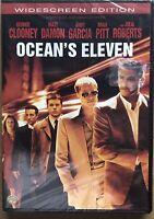 Oceans Eleven Movie DVD 2007 Widescreen