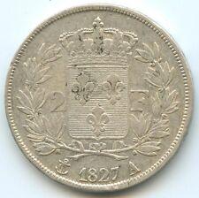 Charles X 2 Francs 1827 A Paris