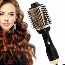 One Step Hair Brush Dryer Volumizer Ionic Hair Curler Straightener Hot Air Brush
