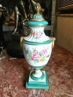 Antique French Samson Porcelain Urn.