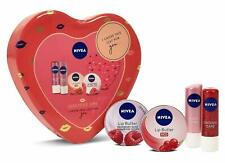 Nivea Luscious Lips Moisturising Lip Butter and Balm Tin Gift Set
