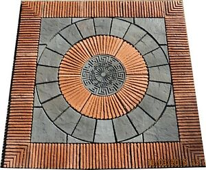 2400mm Rotunda Patio Kit Red Brindle incl delivery  (some exceptions)