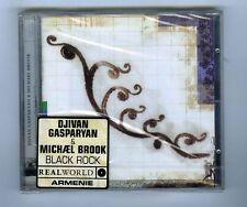 CD (NEW) DJIVAN GASOARYAN & MICHAEL BROOK BLACK ROCK(ARMENIE REAL WORLD)
