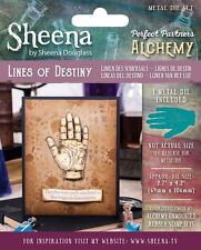 SALE New Sheena Douglass Metal Cutting Die Alchemy Collection - Lines of Destiny