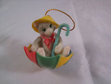 Enesco Calico Kittens Figurine Spring Is In The Air #297402 Mini