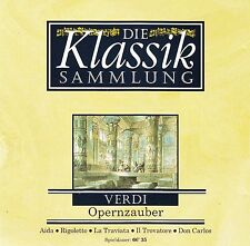 DIE KLASSIKSAMMLUNG 14 : VERDI - OPERNZAUBER / CD - NEUWERTIG