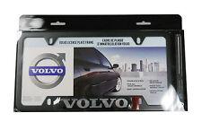 OEM Volvo BLACK License Plate Frame XC60 XC70 XC90 V50 V70 S40 S60 S80 #8640218