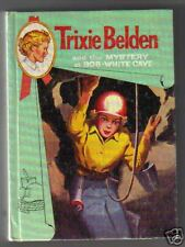 Trixie Belden  MYSTERY AT BOB WHITE CAVE  Cameo Cover