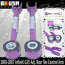 For 03-07 Infiniti G35 Coupe 2-D/Sedan 4-D Adjustable Rear Toe Control Arm