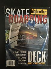 Big Brother Skateboard Magazine December 2000 Brian Sumner Birdhouse