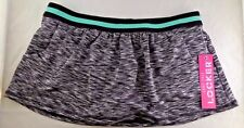 NWT Women's Anne Cole Heather Colorblock Elastic Swimskirt Swimsuit Size M