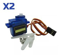 2X SG-90 9g Micro Servo for RC Helicopter Plane Boat Car