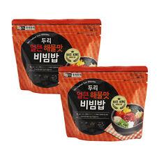 Easy Cook Korean Food Seafood Bibimbap Asian Food Just pour hot water * 2EA